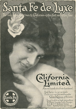 California Limited Ad, Mc Clure's 1911