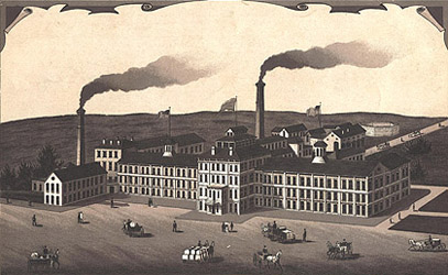Illinois Watch Factory, Springfield, circa 1890 (Courtesy of University of Illinois at Springfield, Brookens Library)