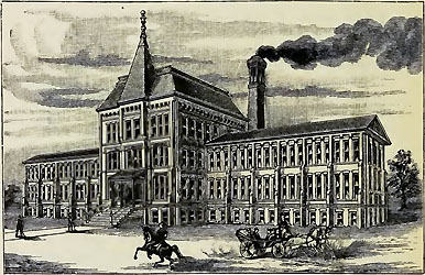Peoria Watch Factory, from Watch Factories of America by Henry G. Abbot