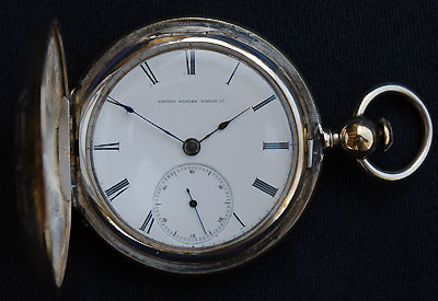 U S Watch Co, United States Watch Co. Marion, New Jersey, Model 1, A. H. Wallis, circa 1872