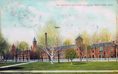 American Waltham Watch Factory, Robbins Brothers, Boston