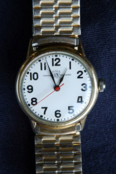 Ball Official Railroad Standard wrist watch introduced in 1959