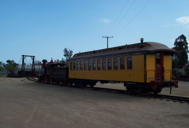 Grizzly Flats No. 2 heading toward turntable (Richard Boehle photo)