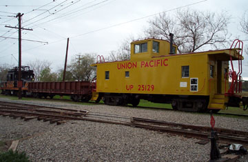 Union Pacific Caboose No. 25129 at Orange Empire Railway Museum (Richard Boehle)