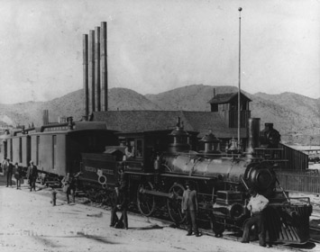V&T Locomotive No. 11 at Virginia City